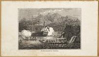 [Rooker, Michael Angelo], 1743-1801 :Wallis attacked at Otaheite [London, Sir Richard Phillips & Co., 1820]