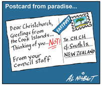 Nisbet, Alistair, 1958- :Postcard from paradise 16 February 2012