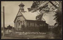 Sommerville Memorial Church, Remuera, Auckland - Photograph taken by W T Wilson
