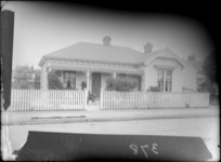 Exterior view of a single storied house, probably Christchurch district