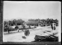 Sanatorium at Rotorua - Photographed by Sigvard Jacob Dannefaerd