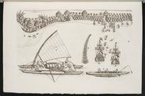 [Gilsemans, Isaac] fl 1637-1645 :Syn onse schepen so die geanckert legen op de veede ... [Tongatapu] 23 January 1643.