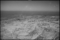 Aerial view of the country looking towards Castelfrentano, Italy, World War II - Photograph taken by George Kaye