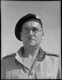 Lieutenant Colonel R L McGaffin - Photograph taken by George Bull