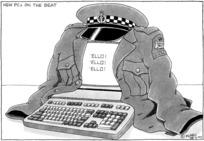 Clark, Laurence (Klarc) 1949- :New PCs on the beat. New Zealand Herald. 28 June, 1997.
