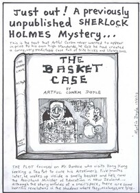 Doyle, Martin, 1956- :Just out! a previously unpublished Sherlock Holmes mystery...17 May 2012