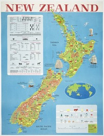 New Zealand [cartographic material] / Eugene Collott.