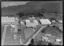 Avondale, Auckland showing factories of AC Hatrick New Zealand Ltd, and Morcom Green and Edwards Ltd