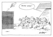 Nisbet, Alistair, 1958- :Aussie Coach! The Press, 26 July 1996.
