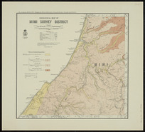Geological map of Mimi survey district [cartographic material] / drawn by G.E. Harris.