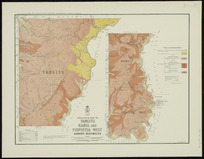 Geological map of Tangitu, Rangi, and Piopiotea West survey districts [cartographic material] / drawn by G.E. Harris.