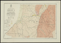 Geological map of Kongahu & Otumahana Survey Districts (Mt. Radiant Subdivision) [cartographic material] / compiled and drawn by G.E. Harris.