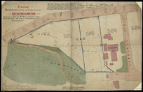 Jackson, Henry, 1830-1906 :Tracing of a portion of the survey of the city of Wellington surveyed in 1869 by Mr Henry Jackson, late Chief Surveyor, by order of the provincial government [ms map]. Traced by E. V. Briscoe, authorised surveyor, 12th Nov 1885