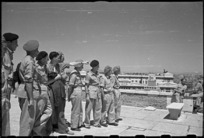 New Zealand soldiers sightseeing while on leave in Rome, Italy, during World War 2