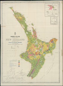 North Island (Te Ika-a-Maui), New Zealand (Aotea-roa) [cartographic material] : showing the land-tenure, 1908-1909 / G.P. Wilson, delt.