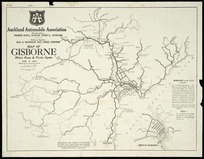 Map of Gisborne motor runs & picnic spots [cartographic material].
