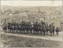 Mounted special constables, Wellington, New Zealand