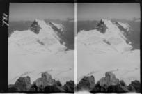 Edgar Williams' Mount Aspiring trip, view to [Mount French?] from Mount Aspiring, Central Otago Region