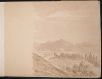 Artist unknown :[North Canterbury sketches]. Horsely Downs; continued from last page. [1882].