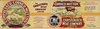 Christchurch Meat Company Limited :Compressed corned mutton, warranted to keep in any climate. Ch[rist]ch[urch] Press Co Lith, N.Z. [1906-1920?]