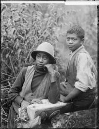 Maori children