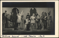 """Scene from a play called """"Dossing Dulcie"""""""