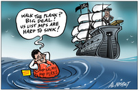 Nisbet, Alastair, 1958- :'Walk the plank? Big deal! Us list MPs are hard to sink!' 10 December 2012