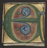 Choirbook, fragment
