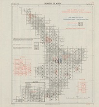 Index to N.Z.M.S. 2, 2A & 2B topographical series 1:25,000 (0.4 miles to 1 inch approx), also index to N.Z.M.S. 86 mosaic topographical series 1:15,840 (4 inches to 1 mile). North Island [electronic resource].