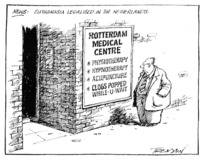 Tremain, Garrick 1941-:News;'Euthanasia legalised in the Netherlands.' 12 April, 2001.