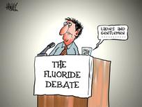 Hawkey, Allan Charles, 1941- :[The fluoride debate]. 30 May 2013