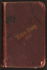 McRae, Donald, 1881-1915 : Diary and letters