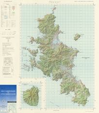 Map of Great Barrier Island & Little Barrier Island [electronic resource].