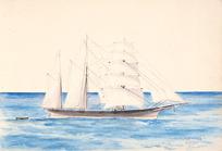 Haylock, Arthur Lagden 1860-1948 :Annie Bow, Timaru. 1879?