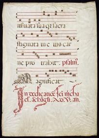 Antiphonary [fragment]