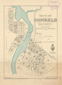 Town of Dunkeld (Beaumont) [electronic resource] / A.J. Morrison, May 1925.