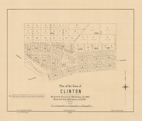 Plan of the town of Clinton [electronic resource] drawn by F.W. Flanagan.