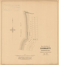 Plan of the town of Cromarty, (Preservation Inlet) [electronic resource] A. Johnston, assistant surveyor, May 1869 ; W. Spreat, lith.