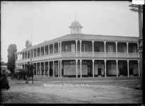 Morrinsville Hotel, ca 1916