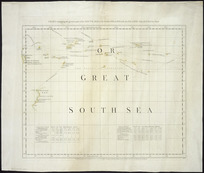 Chart containing the greater part of the South Sea to the south of the line, with the islands dispersed thro' the same [cartographic material].