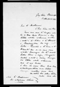 Inward letters in Maori