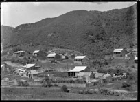 Houses at Mangapehi, 1920.