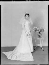 Bride, wedding of Mr M Nensch