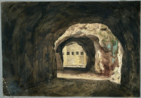 Smith, William Mein, 1799-1869 :A sketch in the excavations, Gibraltar [1832?]