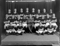 Wellington College [rugby] football 1st XV team