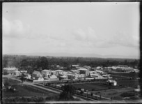 Part two of a two-part panorama of Paeroa