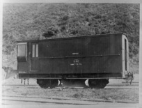 Ballast van with double plough
