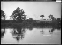 Waikato River at Ngaruawahia, 1910 - Photograph taken by G & C Ltd