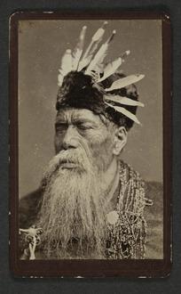 Bragge, James (Wellington) fl 1865-1875 :Portrait of [Renata Kawepo]