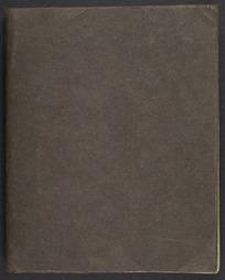 Journal kept for Katherine Mansfield